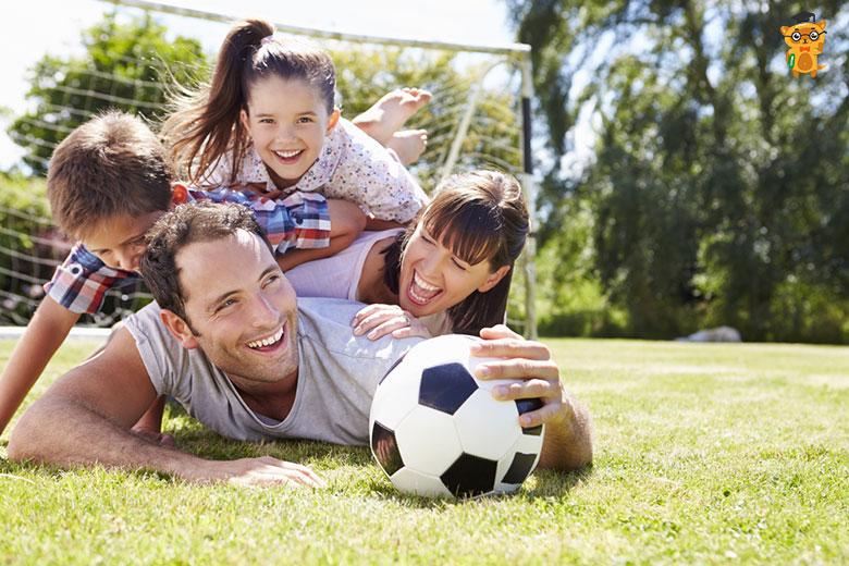 Игры на свежем воздухе вместе с детьми